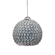 WAC US MP-LED335-CL/BN - Roxy LED Pendant with Brushed Nickel Canopy