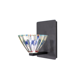 WAC US WS58LED-G518DIC/RB - Eden LED Wall Sconce with Dichroic Glass in Rubbed Bronze