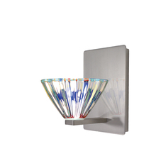 WAC US WS58LED-G518DIC/BN - Eden LED Wall Sconce with Dichroic Glass in Brushed Nickel