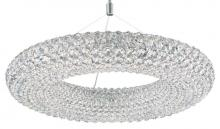 Schonbek CA2525A - Cassini 15 Light 110V Pendant in Stainless Steel with Clear Spectra Crystal