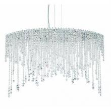 Schonbek CH4812N-401H - Chantant 8 Light 110V Pendant in Stainless Steel with Clear Heritage Crystal