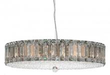 Schonbek 6674A - Plaza 21 Light 110V Pendant in Stainless Steel with Clear Spectra Crystal