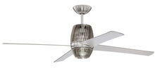 "Craftmade TOR52BNK4 - 52"" Ceiling Fan w/Blades, LED light Kit"