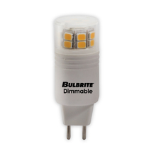 Bulbrite 770560 - 3W LED GY6 3000K 120V DIMMABLE