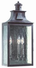 Troy BCD9009OBZ - Newton 3Lt Wall Pocket Lantern Large