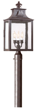 Troy P9006OBZ - Newton 3Lt Post Lantern Large