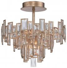 Minka Metropolitan N6672-274 - 5 Light Semi Flush Mount